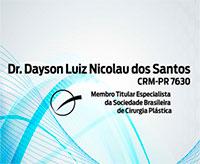 DR. DAYSON LUIZ NICOLAU DOS SANTOS CRM-PR 7630 | Os Cirurgiões Plásticos mais buscados em Curitiba no Bigorrilho - ACESSOMEDICO.com